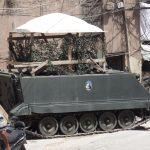 Tripoli - ruchomy posterunek wojskowy